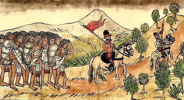 Caballos en la Conquista de America
