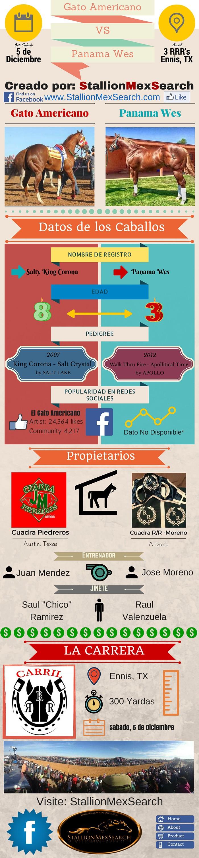 El Gato Americano Vs Panama Wes Infographic | StallionMexSearch