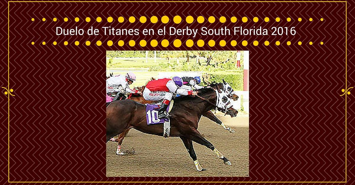 South Florida Derby 2016 | EC JET ONE & CARTERS SIXTY SIX