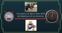 Speed Index 2016 del Hipodromo de las Americas